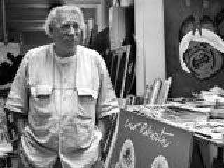 Concetto Pozzati, pittore - ritratto nel suo studio a Bologna.crop_display.jpg