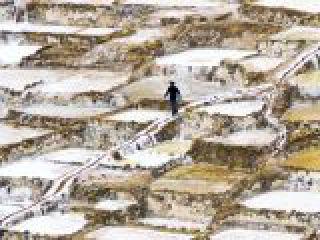 Perù, Cuzco, Valle sacra, le saline di Maras, già utilizzate dagli Incas.crop_display.jpg