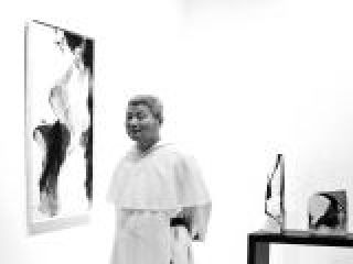 Il pittore Kim En Joong, Arte Fiera, Bologna.crop_display.jpg