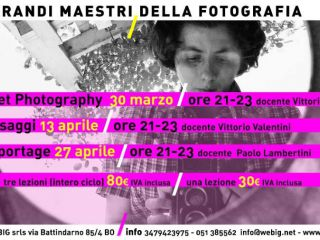 """Corso """"I grandi maestri della fotografia"""""""