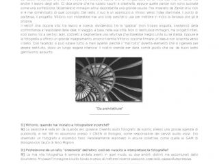 Intervista sulla newsletter Canon